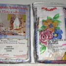 Raggedy Ann & Andy Rod Pocket Draperies + Valance Curtains Drapes Tea Party Collection 80 x 63 NIP