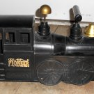 Vintage Marx Pioneer 49 Ride-On Toy Train Engine Black Locomotive Whistling Horn Works