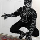 Large 4 Feet Tall Black Spiderman 3 The Movie Figure Outer Shell Only Cloth Material Toy Factory
