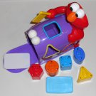 Sesame Street Elmo's Mailbox + Hide n Seek Pals 32717 Shape Color Sorter Mail Letters Fisher Price