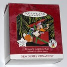 Donald's Surprising Gift Hallmark Keepsake Christmas Ornament Donald Duck 1997 Walt Disney