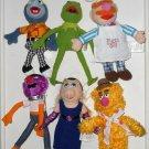 The Muppets Beanbag Plush Dolls 8-10 Inch Sababa Toys Kermit Piggy Gonzo Animal Fozzie Chef 2004