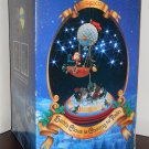 Santa Claus is Coming to Town Deluxe Action Musical Enesco 554510 Wind-Up Holiday Decor 1988