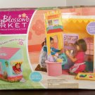 Playskool 68625 Cherry Blossom Market Playset Dream Town Collection Unused in Open Box