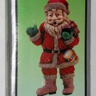 Apex 9409 Polyresin Musical Sonic Santa Clause Motion Activated Wall Door Decor 1993 Henry Wedemeyer