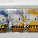 Hello Kitty 7 Piece PVC Mini Figurine Set Figures Band Musical Instruments Desk Cake Toppers Sanrio