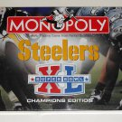 Pittsburgh Steelers Super Bowl XL 40 Champions Edition Monopoly Game NFL Pewter Tokens 2006 NIB