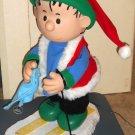 Peanuts Gang Linus Holiday Animation Snow Ski Skiing Figure Animated Santa's Best 1998
