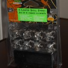 8 Lighted Skull String Lemax 54308 Spooky Town Collection Battery Operated 2005 Halloween