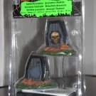 Lighted Accessories Tombstones Set of 2 Lemax 34621 Spooky Town Collection Battery Operated 2013