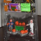 Jack-o-Lantern Sales Set of 3 Figurines Lemax 52104 Spooky Town Collection 2005 Halloween