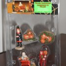 Village Accessories Set of 5 Figurines Lemax 02387 Spooky Town Collection Haunted House Halloween