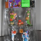 Punkin' Sale Set of 5 Figurines Lemax 52105 Spooky Town Collection 2005 Halloween