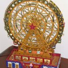 Mr Christmas World's Fair Grand Ferris Wheel Holiday Model 19917 Gold Label Collection