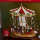 Mr Christmas Holiday Living Swing Carousel 37009 Animation LED Lights Musical Plays 30 Songs NIB