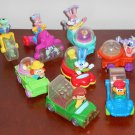 McDonald's TinyToon Tiny Toon Wacky Rollers Action Vehicles Complete Set of 8 1992 Happy Meal Toys