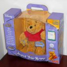 Winnie the Pooh Knows Your Name Fisher Price H3451 Interactive 12 Inch Plush Toy CD-ROM USB Cable