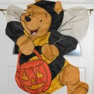 Winnie the Pooh Bumblebee Bumble Bee Bear Costume Halloween Decorative Garden Flag Applique Disney