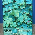 Lucky Clover 500 Piece Springbok Jigsaw Puzzle Four Leaf PZL2498 COMPLETE 1999