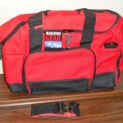 Marlboro Cigarettes Gear Large Duffel Bag 21 x 12 x 13 Duffle Unused 1999 Red Black