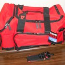 Marlboro Gear Large Duffel Bag 21 x 12 x 13 Duffle Unused 1999 Red Black Cigarettes