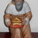 Melchior Wise Men Porcelain Figurine Homco 5603 Nativity Scene Replacement Home Interiors Christmas