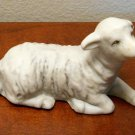 Lamb Porcelain Figurine Homco 5603 Nativity Scene Replacement Home Interiors Christmas Decor