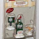 Lemax Christmas Village Accessory 64466 Newspaper Box Gazette Polyresin Figurines 2006 NIP