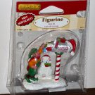 Lemax Christmas Village Accessory 62211 Mail Elf Mailbox Polyresin Figurine 2006 NIP