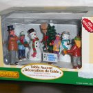 Snowman Contest Lemax Christmas Village Collection 63570 Table Accent Polyresin Figurine 2006 NIB