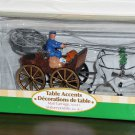 Mail Carriage Lemax Christmas Village Collection 43449 Table Accent Polyresin Figurines 2004 NIB