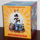 Disney Mickey Mouse Millennium 2000 Water Globe Waterglobe Musical