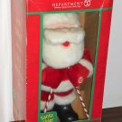 Department Dept 56 Plush Santa Claus Skier Rockin' Rollers Animated Sings 31756