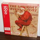Mapping His Course Santa Claus 1000 Piece Jigsaw Puzzle Springbok XZL6137 Norman Rockwell NIB