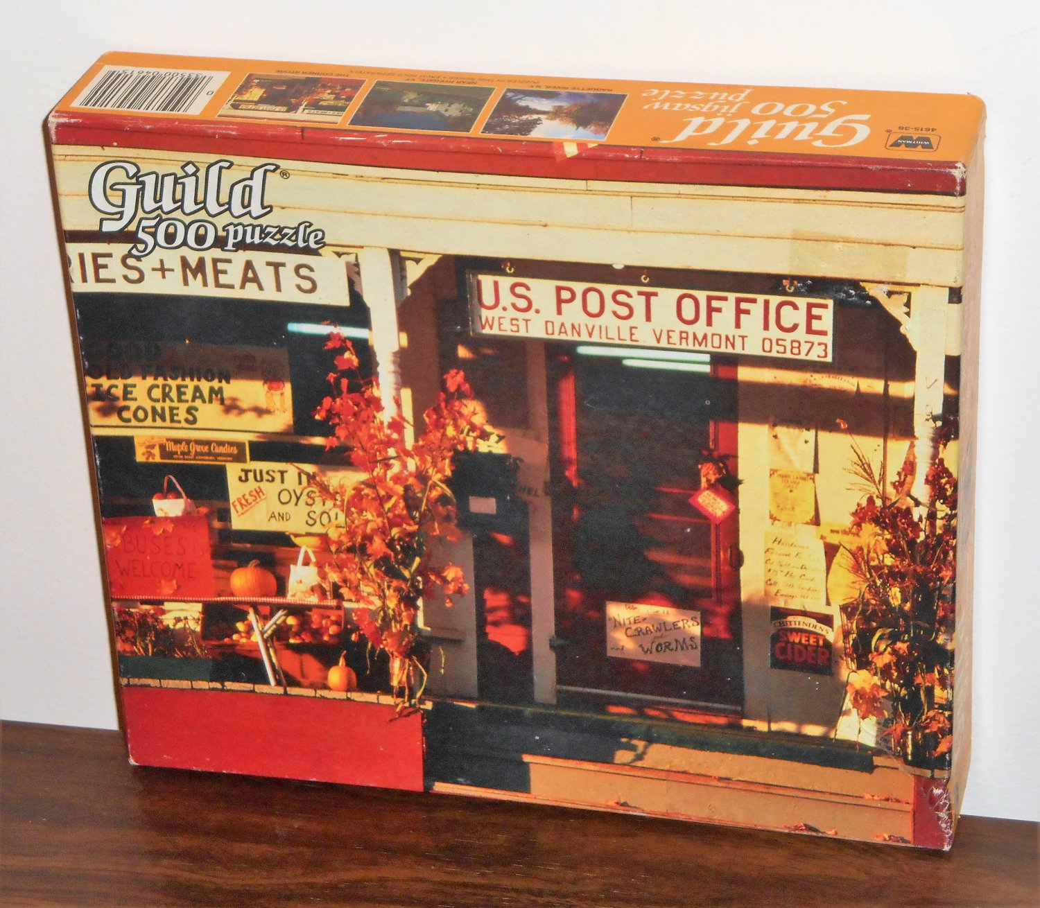 Guild 500 Piece Jigsaw Puzzle The Corner Store 4615-36 West Danville Vermont NIB Factory Sealed