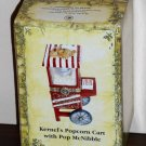 Boyds Bears Kernal's Popcorn Cart with Pop McNibble 1E 392177 Treasure Boxes NIB