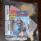 Lowe's Build and Grow Captain America Wood Model Kit with Iron-On Patch Marvel Avengers NIP