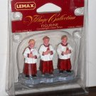 Lemax Christmas Village Collection 42862 Candlelight Choir Boys Polyresin Figurine 2004 NIB