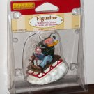 Lemax Christmas Village Accessory 52084 Sledding With Gramps Polyresin Figurine 2005 NIP