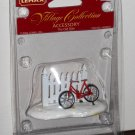 Lemax Christmas Village Collection Accessory 44230 The Old Bike 2004 NIB