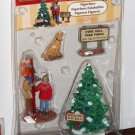 Lemax Christmas Village Collection Figurines 12926 Picking the Tallest Tree Pine Hill Farm 2011 NIB