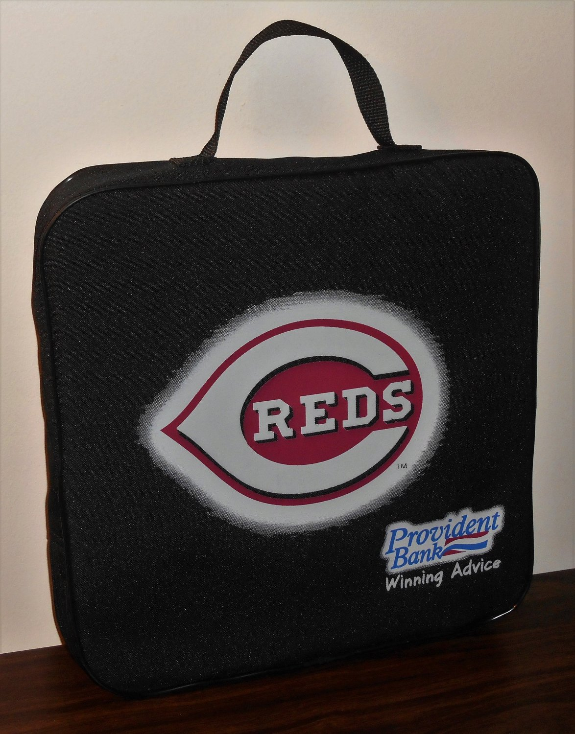 Cincinnati Reds Bengals Foam Padded Stadium Cloth Seat Cushion MLB NFL