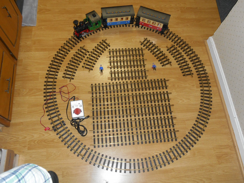 LGB The Big Train 72302 Starter Set G Gauge Lehmann Gross Bahn Electric German Quality Extra Track