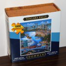 Eric Dowdle 1000 Piece Jigsaw Puzzle Niagara Falls Folk Art Map Box NIB Sealed 19 x 27