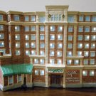 Fairfield Inn Hotel Lighted Ceramic Building Washington DC Old Town Alexandria Virginia