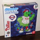 Philadelphia Phillies Phanatic 30 Piece Giant Floor Jigsaw Puzzle 3 Feet Tall MLB Baseball NIB