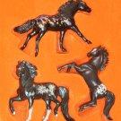 Breyer Spooky Stablemates Horses 5917 Limited Edition Skullduggery Nosferatu Merry Widow GITD