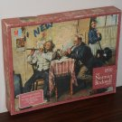 Norman Rockwell Jigsaw Puzzle Lot Montage in Tin The Love Song 1000 Pieces MB