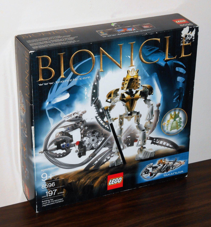 Lego Bionicle Takanuva 8596 New in Sealed Box NISB NIB 2003