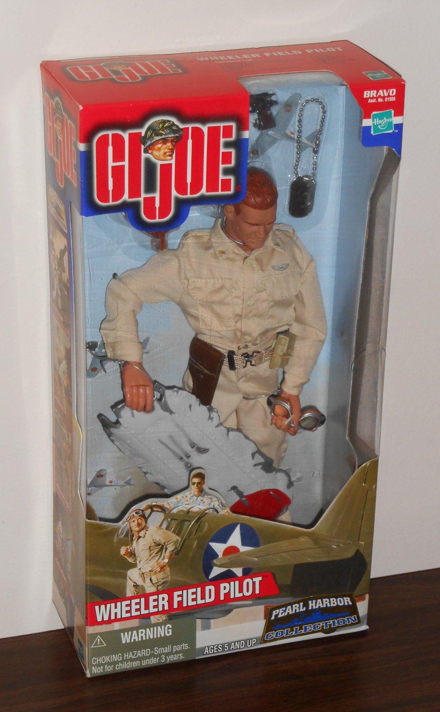 GI Joe 12 Inch Doll Wheeler Field Pilot Pearl Harbor Collection 81565 81682 NIB